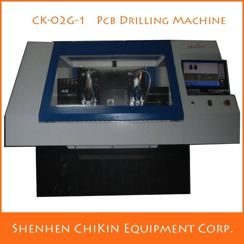 aluminum copper 2 Axis Granite marble cnc pcb drilling machine china