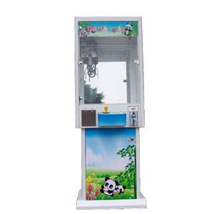 advance arcade claw with metal cabinet