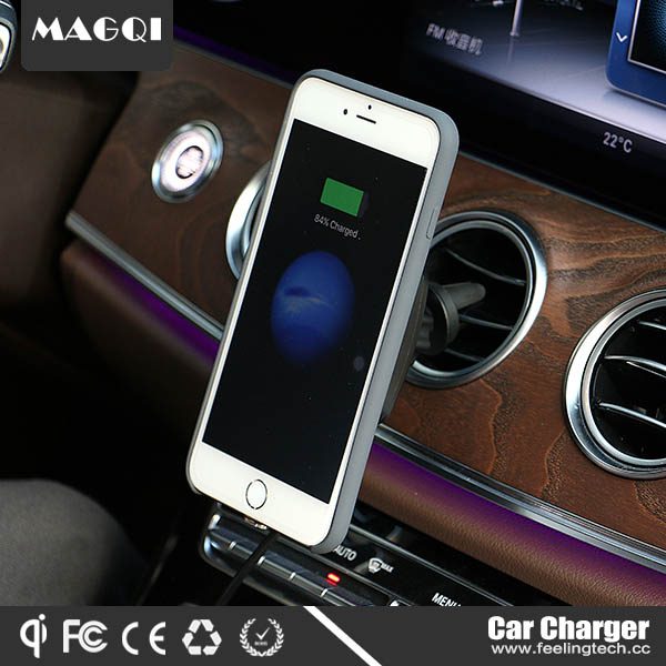magqi wireless charger with magnet