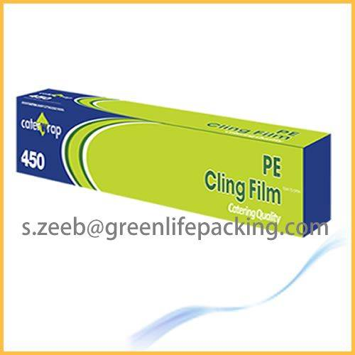 Transparency PE stretch ling film for food packing