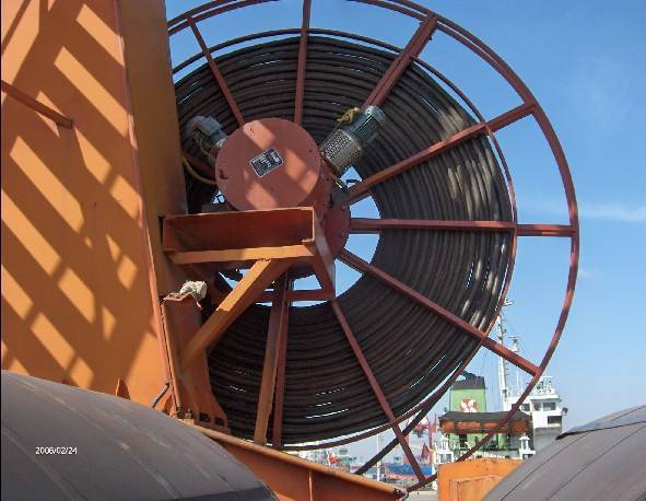 Magnetic Hysteresis Type Cable Reel