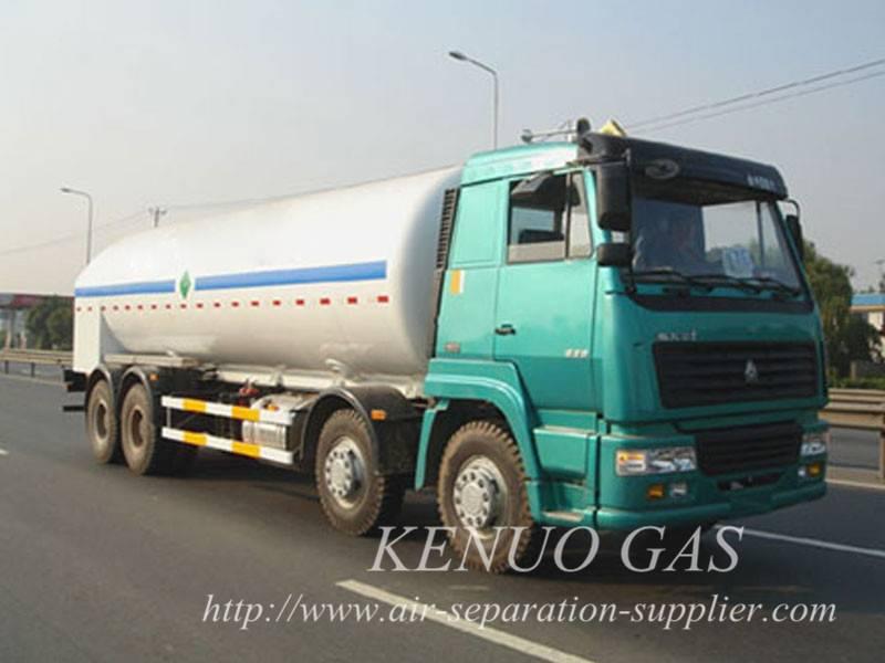 Cryogenic Liquid Lorry Tanker