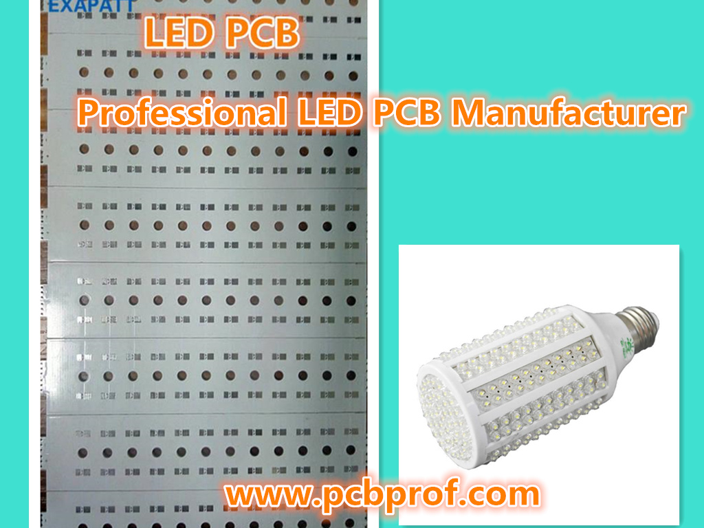 LED lighting PCB, MCPCB, IMS