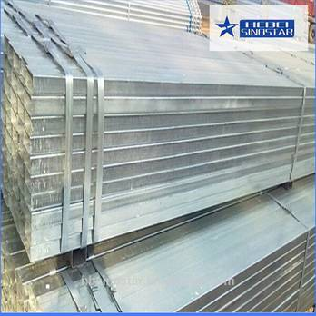 Pre-Galvanized Rectangluar Steel Pipe And Tubes