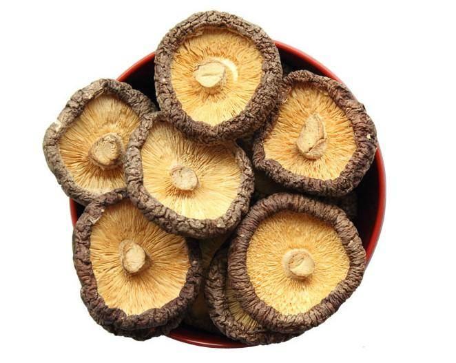 Dried Shiitake Mushroom,whole black forest mushroom