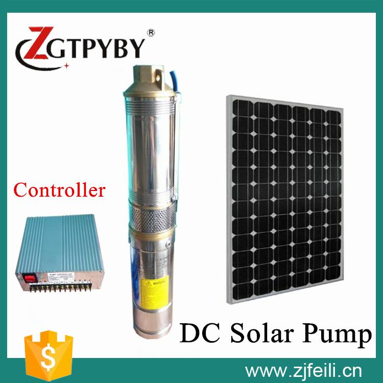 solar water pump for swimming pools solar DC submersible water pump