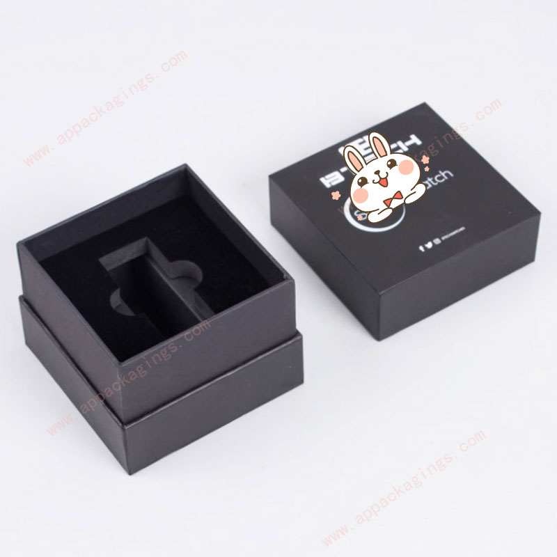 Custom size and printing paper watch case packaging box