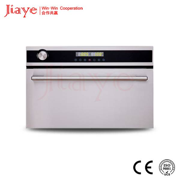 Stainless steel housing digital electric combi steam oven 33L