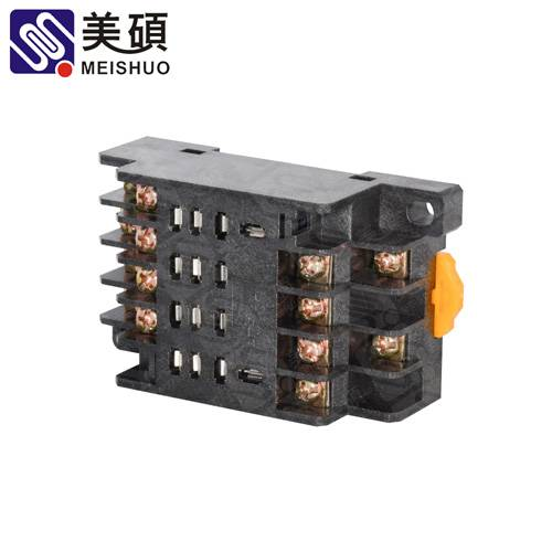 MEISHUO PTF14A socket 14pin screwed relay socket