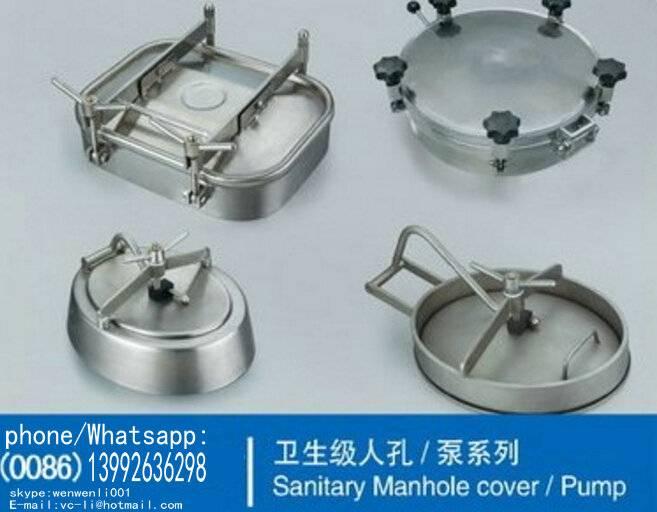 Tank Manways manhole cover For Beer fermentation tanks