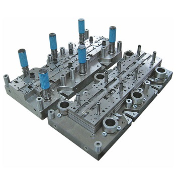 Customized wire terminals progressive mold
