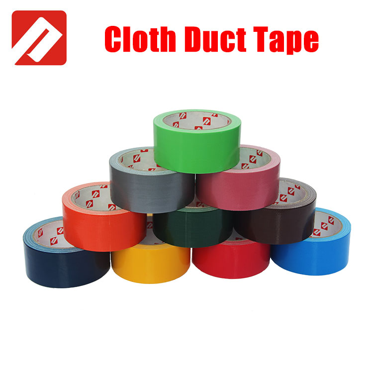 Get Free Samples Heavy Package Adhesive Silver Grey Cloth Duct Tape From China