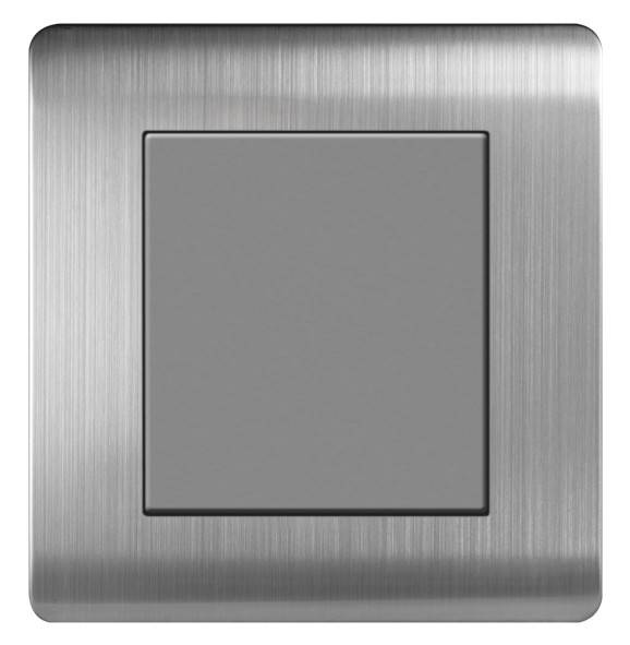arrtdna stainless steel single blank plate