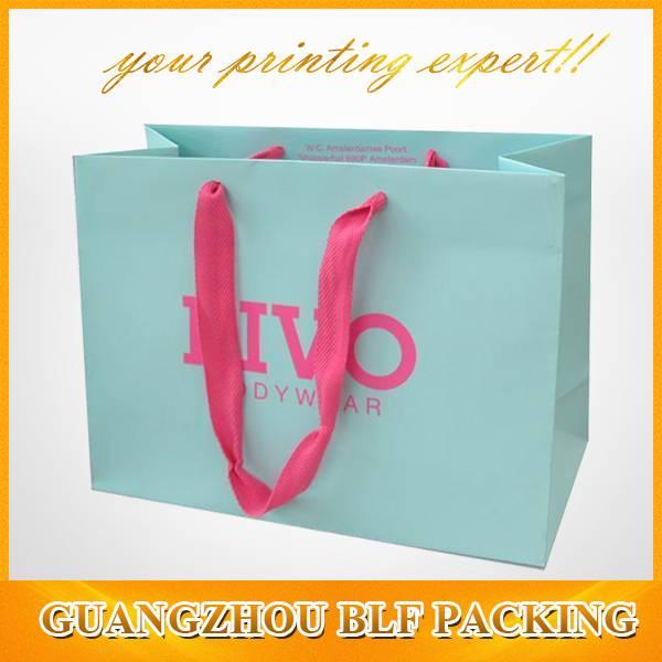 wholesale paper shopping bags(BLF-PB025)