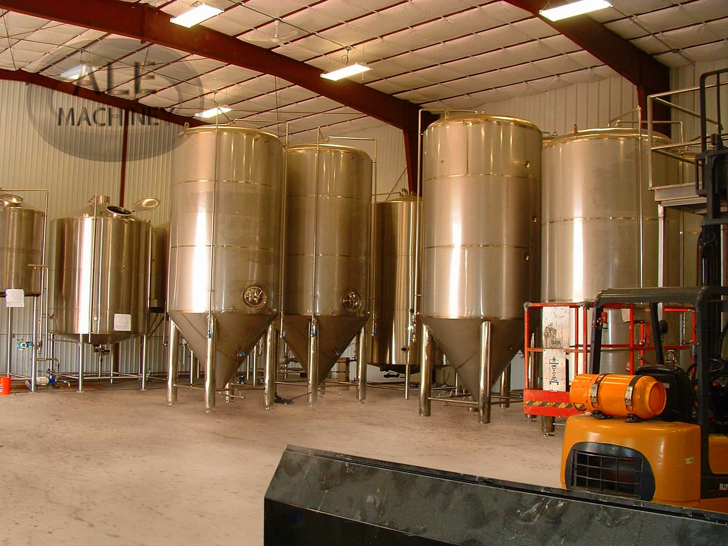500l 1000l 2000l Craft Beer Brewery Equipment /fermentation Tank / Complete Brewing System