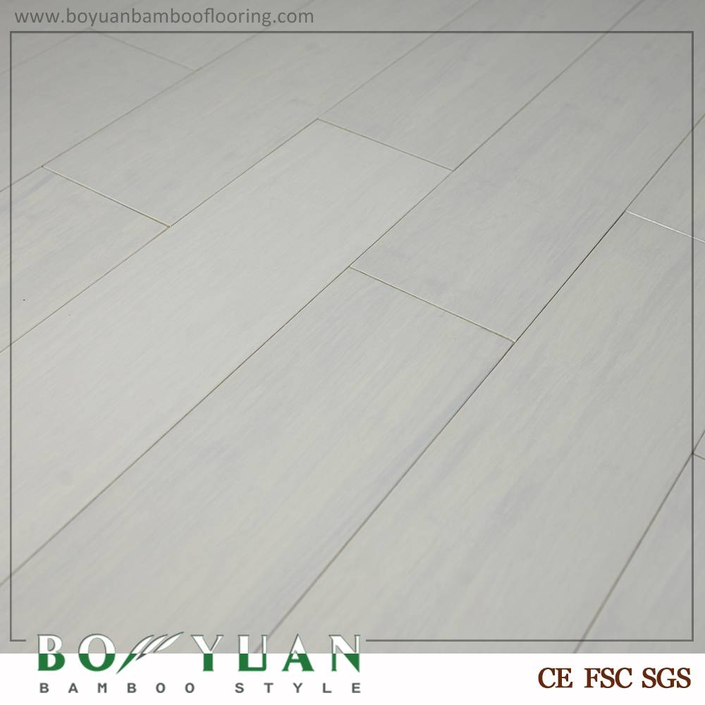 BY mould proof white stained strand woven flooring