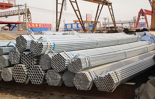 BLACK AND GALVANIZED STEEL TUBE