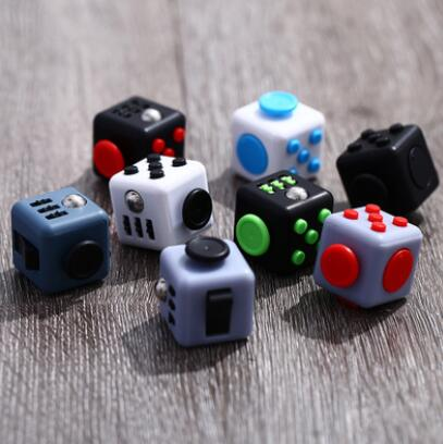 High quality releasing Stress Reliever desk toys fidget cube