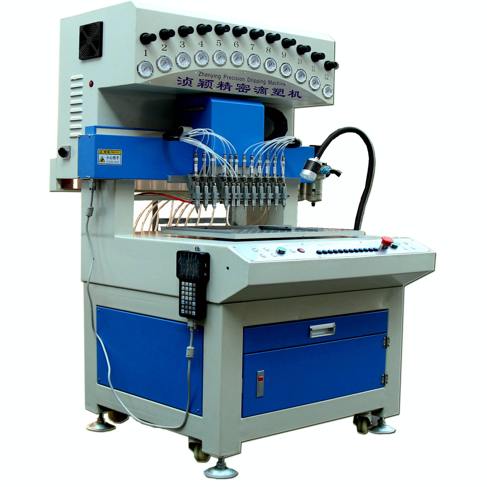 automatic pvc dispenser machine for labels and trademark