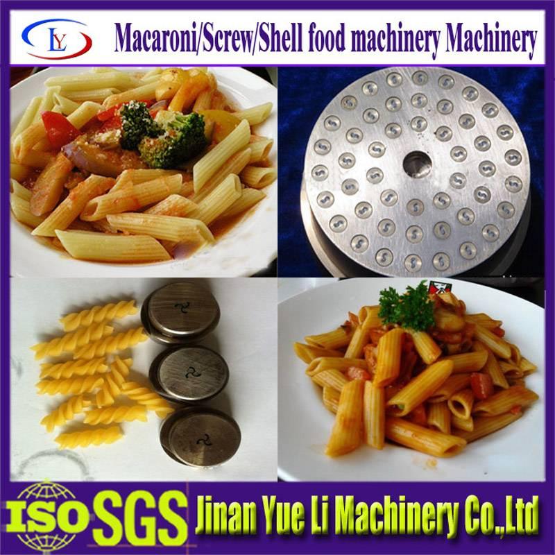 High quality Macaronis pasta noodle making machine/food machine
