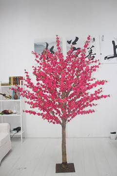 Artificial Peach blossom tree