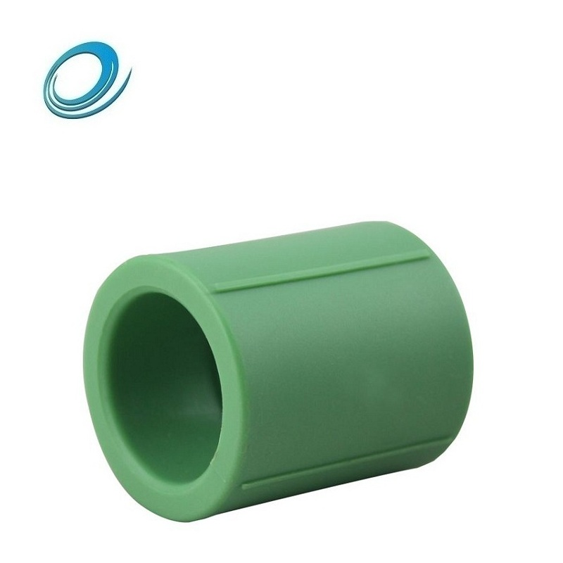 wholesale Plumbing fittings 25mm PPR coupling equal coupling ppr pipe fittings for drinking water
