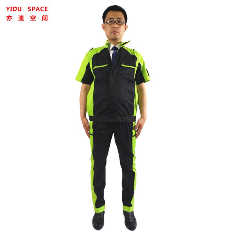 Men and Women Alike short sleeve Workwear Uniform Car Auto Repair Work Wear Clothing