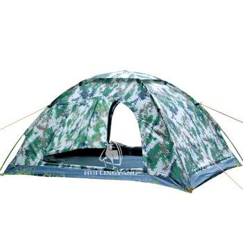 Two man camouflage single layer leisure tent H85