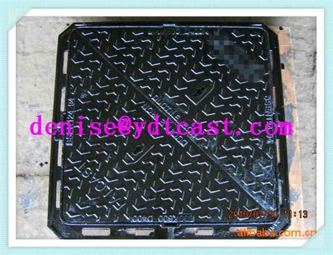 cast iron manhole cover for inspection hole of telecom