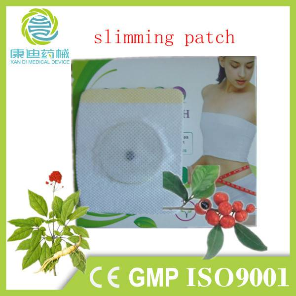 OEM offered herbal abdomen treatment slimming patch