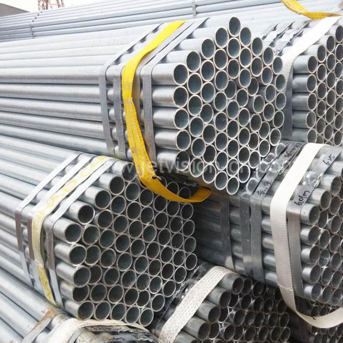 Wholesale ASTM A53 Galvanized GI Tube Pre-Galvanized Pipe