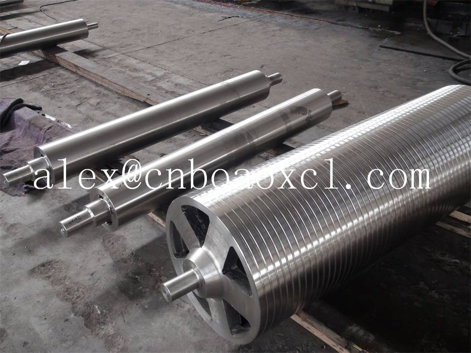 Centrifugal casting stabilizer roll for hot dip galvanized line