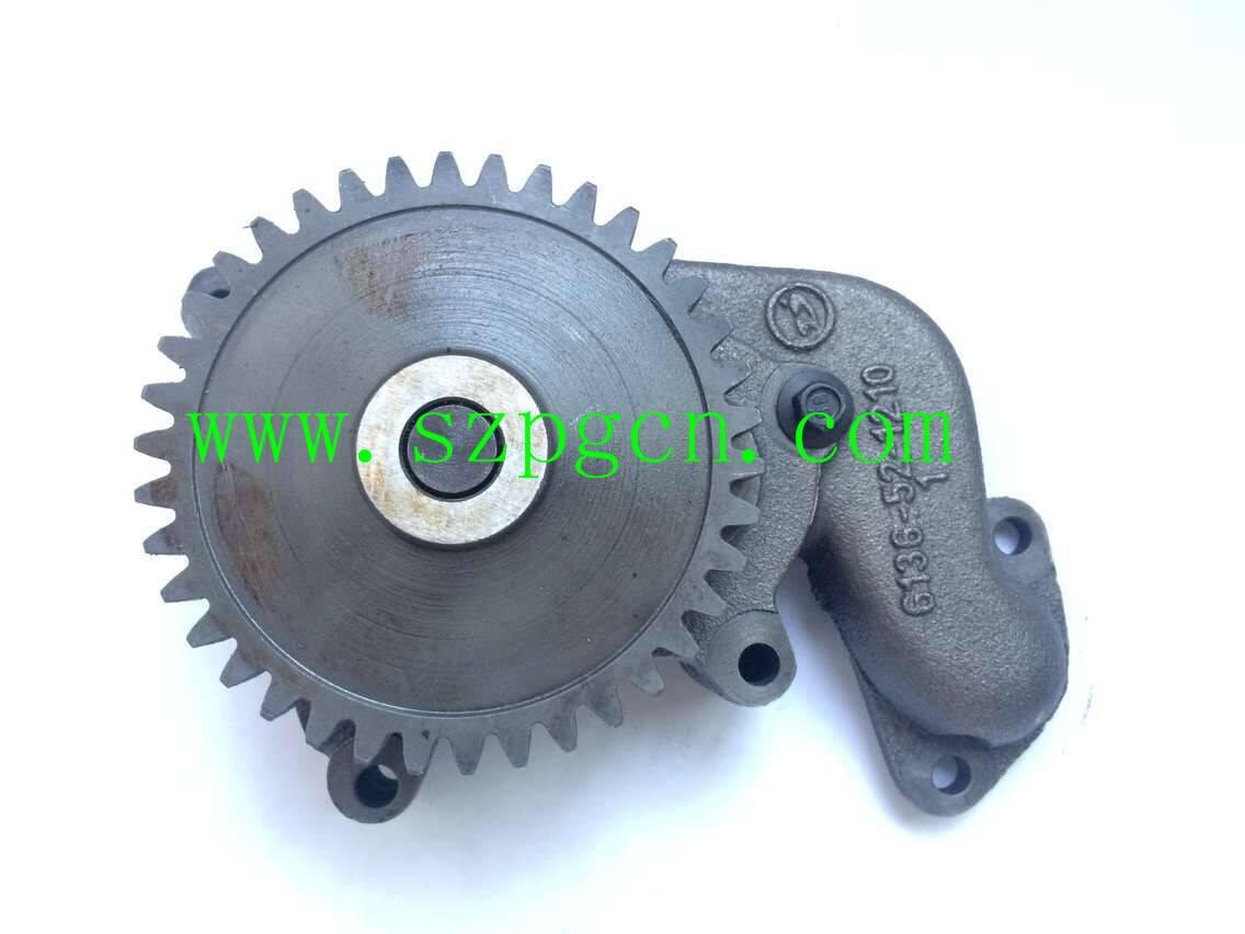 PC200-3 Diesel Engine 6D105 Oil Pump 6136-52-1100 for Excavator