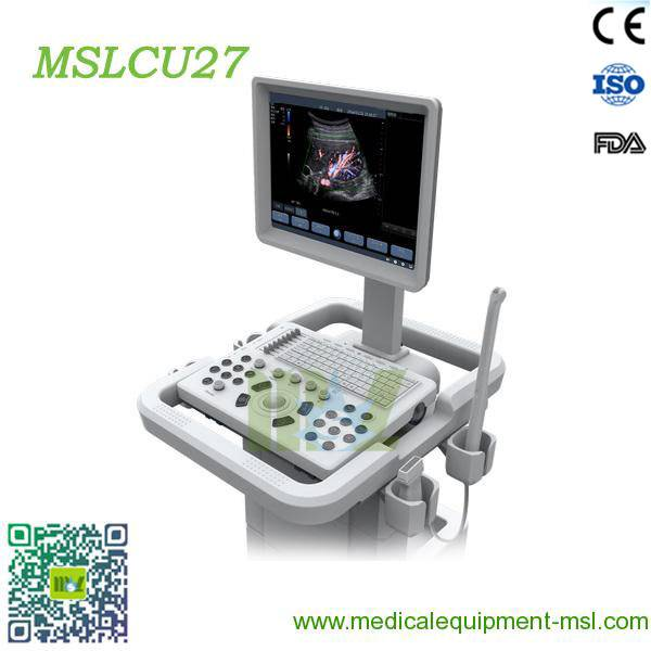 Color Doppler Trolley ultrasonic diagnostic imaging system-MSLCU27