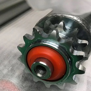 Steel sprocket roller steel roller