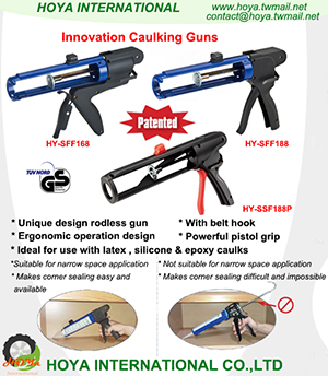 Innovation Caulk Guns
