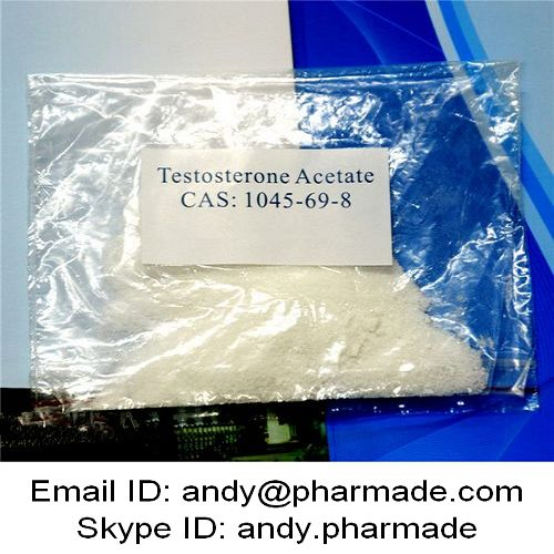 99% USP BP Testosterone Acetate Test Acetate Test Ace Test A Powder Muscle Building