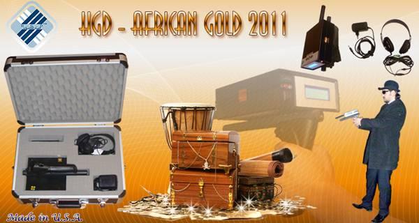 HGD - AFRICAN GOLD 2011 LONG RANGE GOLD DETECTOR