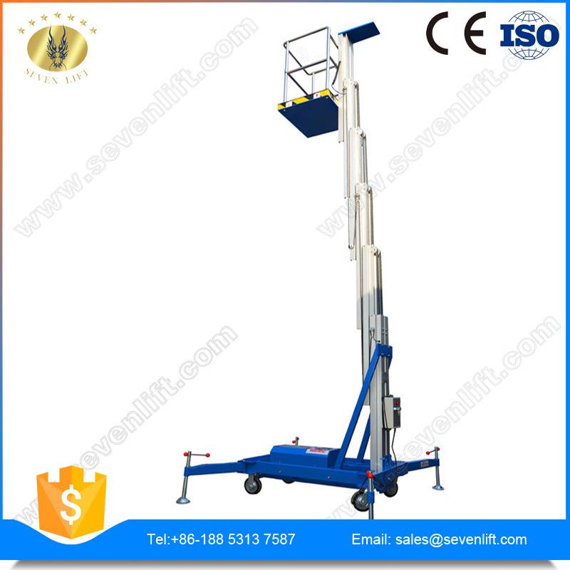 7LSJLI Shandong SevenLift 8m portable aerial access platforms lift