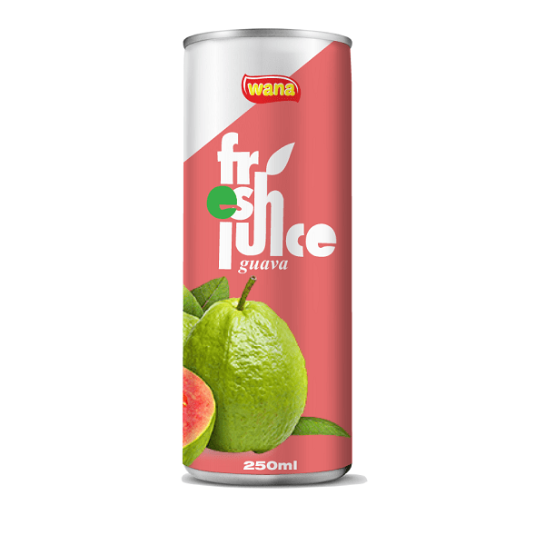 Natural Guava Juice Drink In Can 500ml