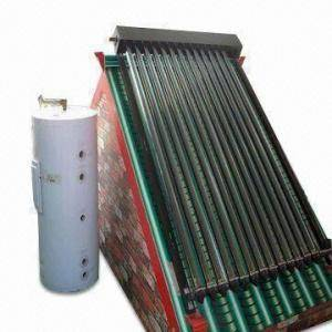 Split Pressurized Solar Water Heater with Aluminum Frame