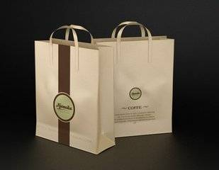 Special clothing kraft paper bags