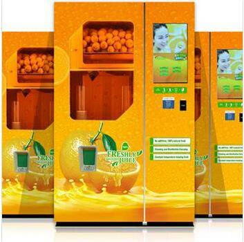 Orange Juice Squeezing vending Machine