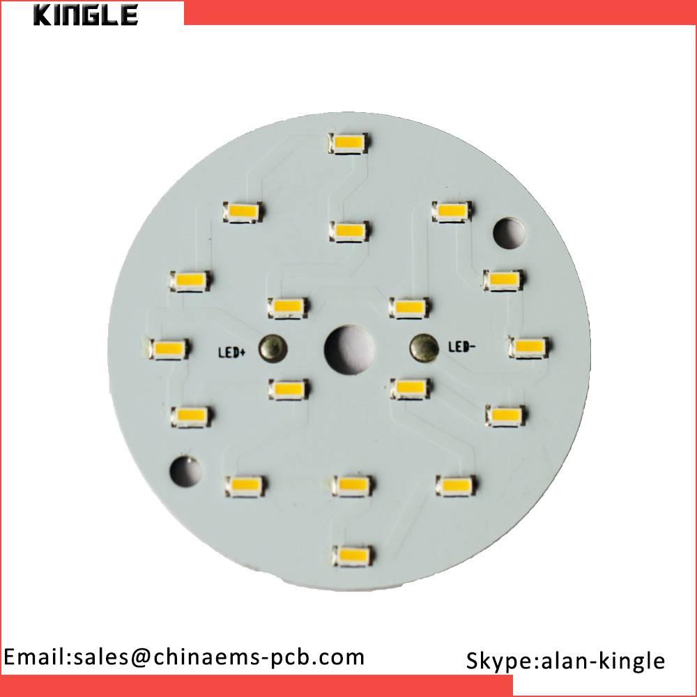 Round Aluminum pcb board