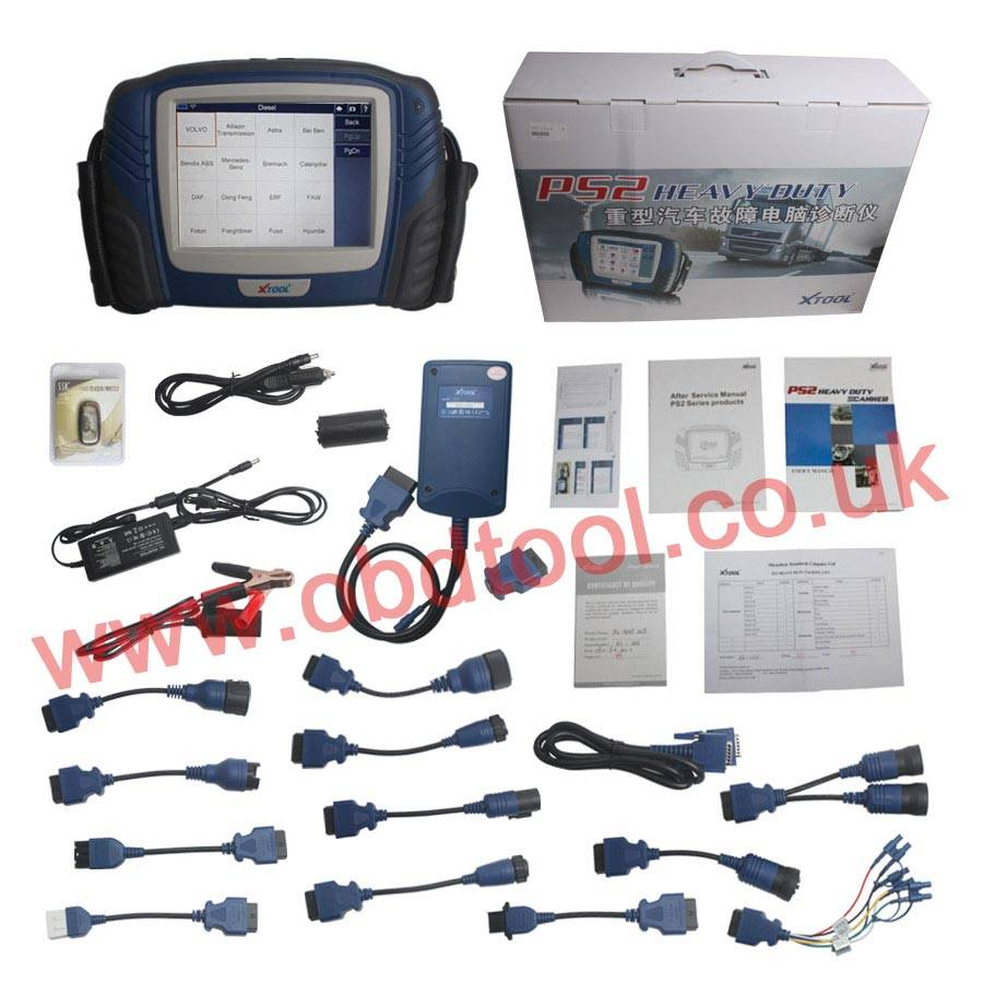 Original Xtool PS2 Professional Truck Diagnostic Tool with Bluetooth 1310.00EUR