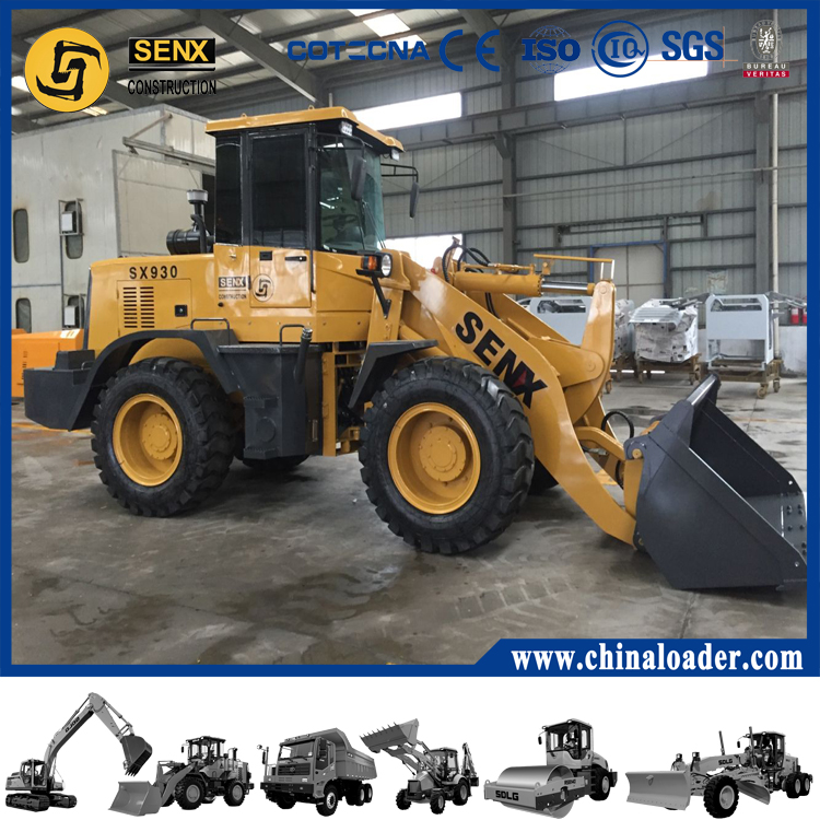 China cheap wheel loader SX928 with best quality SENX brand