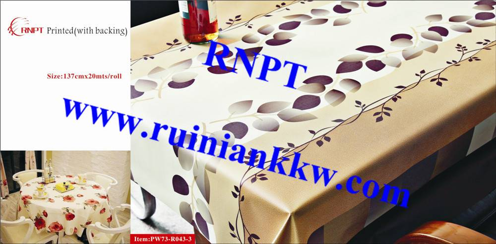 RNPT PW73-R043-3 3D Printed Table Cloth with backing for Israel, Iran, Turkey and South Africa most