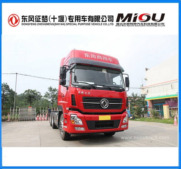 Dongfeng 6x4 big trucks tractors with 20-30 ton load capacity