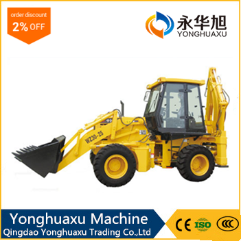 CE Multifunctional Mini Wheel Loader with Euro Wood Grapple