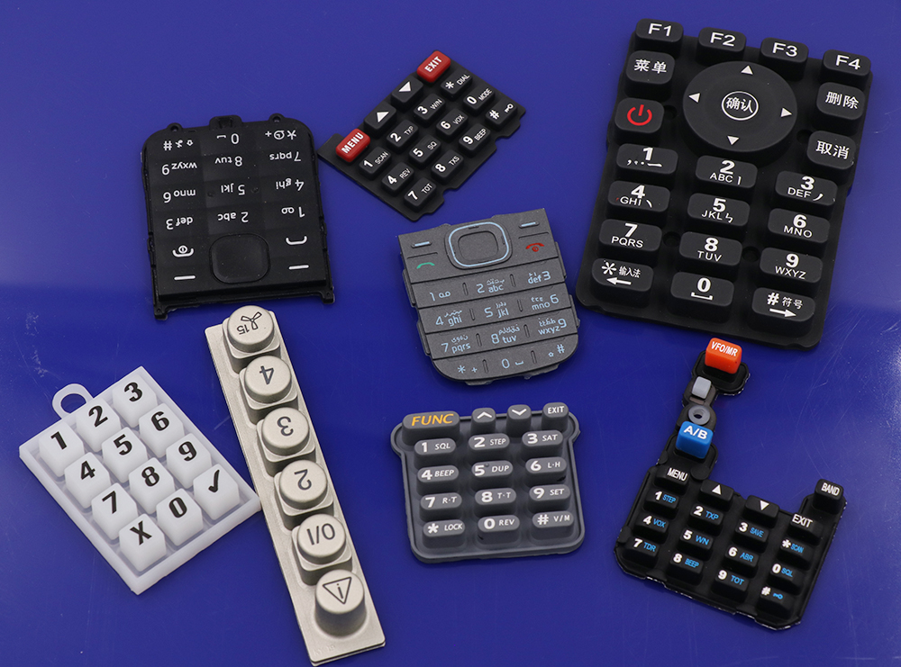 Electronic components silicone rubber keypad Button